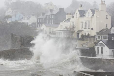 Storm Ophelia battered Ireland in October 2017