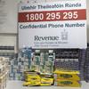 Revenue seizes cigarettes and tobacco worth €20,000 at Dublin Airport