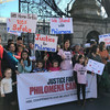 'We stand with Philomena': Rally calls on Harris and HSE to settle case of terminally-ill midwife