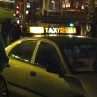 Poll: Should taxis be allowed to display signs of 'Irishness'?