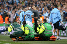 Guardiola reveals extent of injuries to key pair Laporte and Fernandinho