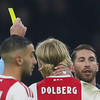 Sergio Ramos charged by Uefa for deliberate booking against Ajax