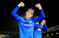 Curtis on score-sheet again to steer Portsmouth to Wembley final