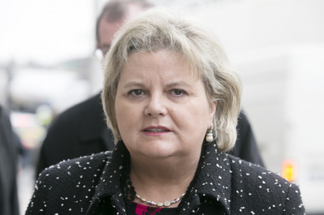 Former CEO of the Rehab group, Angela Kerins (file photo)