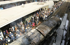 At least 20 killed in train crash in Cairo's main railway station