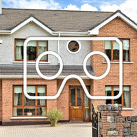Explore a €695k Kildare home with charming decor and plenty of space