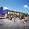 Building has begun to turn a vacant Bray site into a shopping centre and 'urban street'