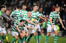 Edouard's 90th-minute winner sees Neil Lennon make the perfect start at Celtic against Hearts