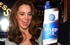How likely is it that Kate Middleton actually drinks Harp? We investigate