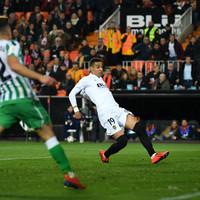Rodrigo strike does the job for Valencia to book Copa final date against Barcelona
