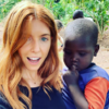 'Is the issue with me being white?': Row breaks out over BBC presenter's social media posts from Africa