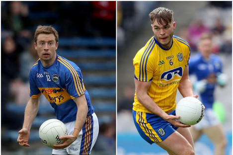 Contrasting fortunes for Tipperary's Brian Fox and Roscommon's Ultan Harney