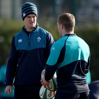 Sexton on track to face France, Schmidt 'hopeful' of Carbery's availability