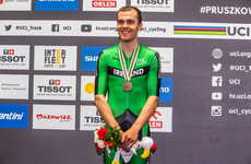 Ireland's Mark Downey wins bronze at Track Cycling World Championships