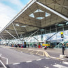 'Evacuate, evacuate': Flights were suspended at Stansted Airport last night after an aborted takeoff