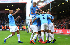 Man City go top of the Premier League ahead of Merseyside derby as Mahrez downs Cherries