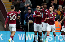 Hourihane hits a brace as Aston Villa trounce faltering Derby County
