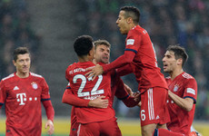 Five-star Bayern Munich pull level with Dortmund at Bundesliga summit