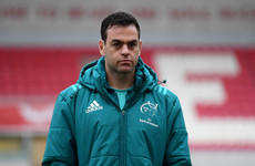Van Graan insists Munster 'still in a brilliant place' despite Scarlets defeat