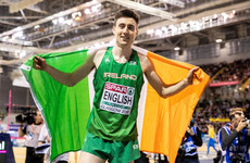 Bronze medal for Ireland as Mark English grabs third in European Indoor 800m final