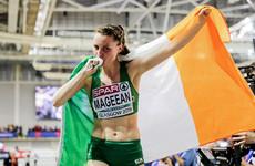 Ciara Mageean wins bronze for Ireland in the European Indoor 1500m final