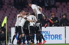 Juventus put one hand on title after squeezing past Napoli