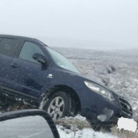 Icy conditions across the country following an evening of snowfall