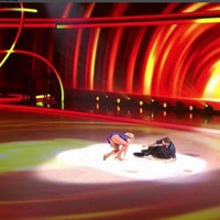 People are devo for Brian McFadden after he took a tumble during the skate-off on Dancing On Ice