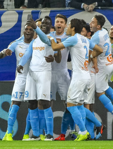 Balotelli scores for Marseille - and then celebrates live on Instagram