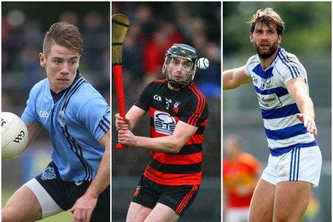 Killyclogher, Ballygunner and Breaffy are all in action on television this weekend.