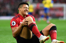 Sanchez ruled out of Man United action 'for six to eight weeks' and could miss rest of season