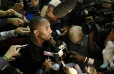 VIDEO: Kobe Bryant couldn't care less about answering the media's stupid questions