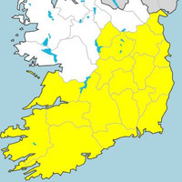 Heavy rain and spot flooding likely as weather warning issued for Munster and Leinster