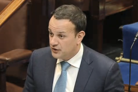 """Leo Varadkar said the government is considering increasing the €200 million cap but said the """"money has to be found""""."""