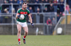 Blow for Mayo as O'Shea set to miss rest of league campaign through injury
