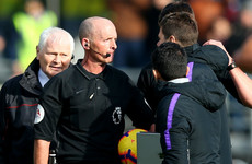 Pochettino fined and handed touchline ban over row with referee Mike Dean