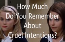 How Much Do You Remember About Cruel Intentions?