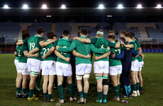 Ireland U20s captain Hawkshaw misses out as Grand Slam bid continues in Cork