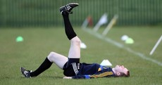 Here's your 'Lar Corbett back in training' pic of the day