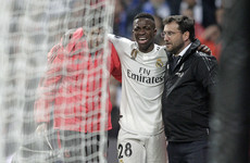 Problems deepen for Real Madrid as Brazilian sensation Vinicius Jr to miss rest of the season