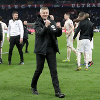 Ole Gunnar Solskjaer: 'You always know it is possible, with this club this is what we do. It's Man Utd'