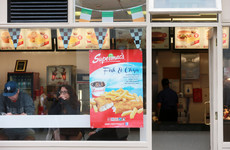 A frequent objector irate about fast food's 'fat arses' is trying to block Supermac's new plaza