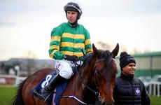 O'Brien 'confident' Triumph Hurdle favourite will recover in time for Cheltenham
