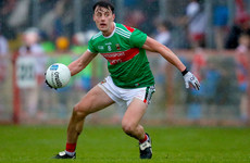 Mayo name two-time Young Footballer of the Year as captain for 2019