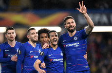 Chelsea in driving seat with comfortable home victory over Dynamo Kiev