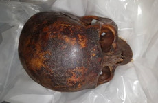 Man arrested over theft of 800-year-old mummy head from crypt of Dublin Church