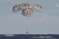 Elon Musk's SpaceX Dragon capsule splashes down in Atlantic Ocean after successful test