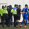 'Imbecile' Hibs fan confronts Rangers captain on a frustrating night for Steven Gerrard's side