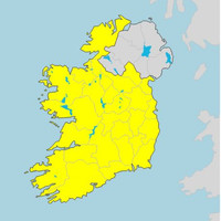 Met Éireann issues Status Yellow snow-ice warning for tonight into Monday morning