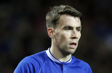 Seamus Coleman withdraws from Everton starting XI before kick-off due to illness